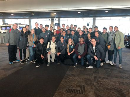 Pioneer HS & Vista Ridge HS Percussion Ensembles -PASIC 2018
