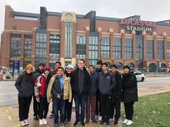 Pioneer Percussion at Lucas Oil Stadium -PASIC 2018
